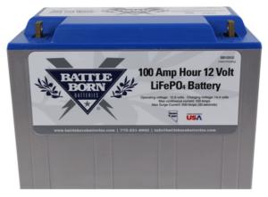 Battle Born Batteries 12-volt 100 Ah LiFePO4 Deep Cycle Battery