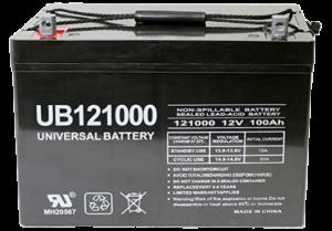 Universal Power Group 12V 100Ah Solar Wind AGM SLA DEEP Cycle VRLA Battery