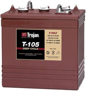 Trojan Trojan 6 Volt Battery