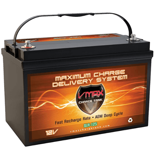 Vmaxtanks VMAXSLR125Rechargeable Deep Cycle Battery