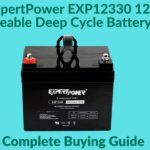 The ExpertPower EXP12330 12v 33ah Rechargeable Deep Cycle Battery