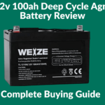 Weize 12v 100ah Deep Cycle Agm slavrla Battery Review