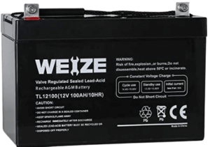Weize 12v 100ah Deep Cycle Agmslavrla Battery Review