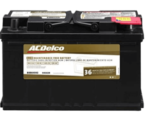 ACDelco 94RAGM AGM Automotive BCI Group 94R Battery