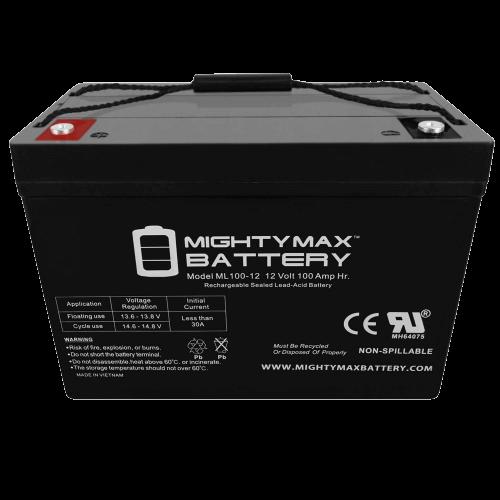 ML100-12 12V 100AH SLA Battery