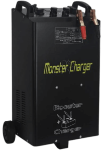 10. Stark 55 Amp 12/24 Voltages Wheeled Battery Fast Charger Truck Charger