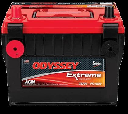 Odyssey 75 86-PC1230DT Automotive and LTV Battery