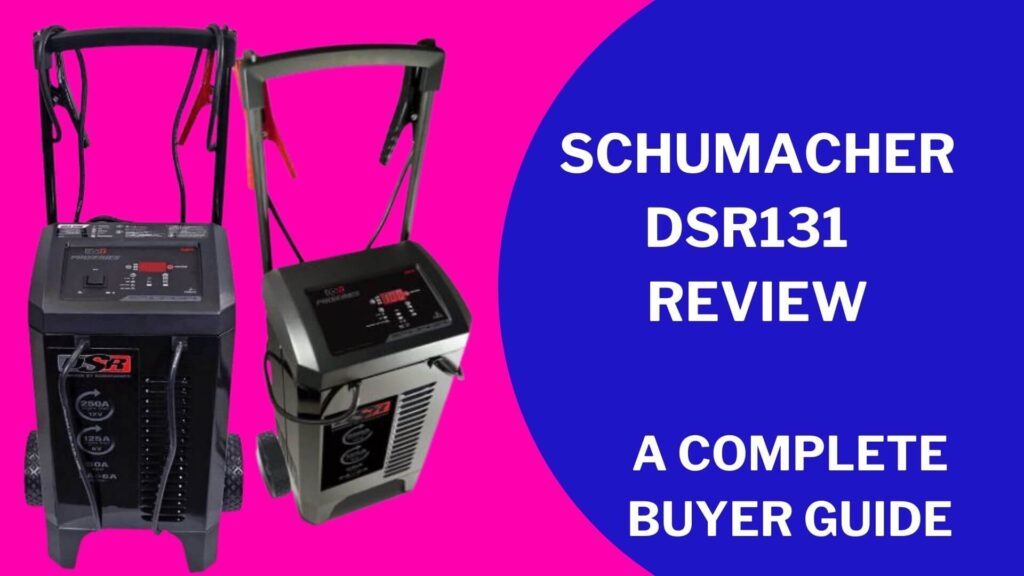 Schumacher DSR131 Fully Automatic Pro Smart Battery Charger