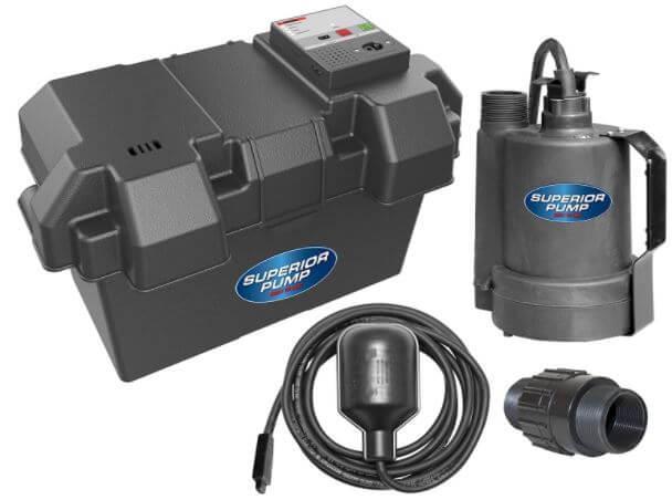 Superior Pump 92900 12V Battery Back Up
