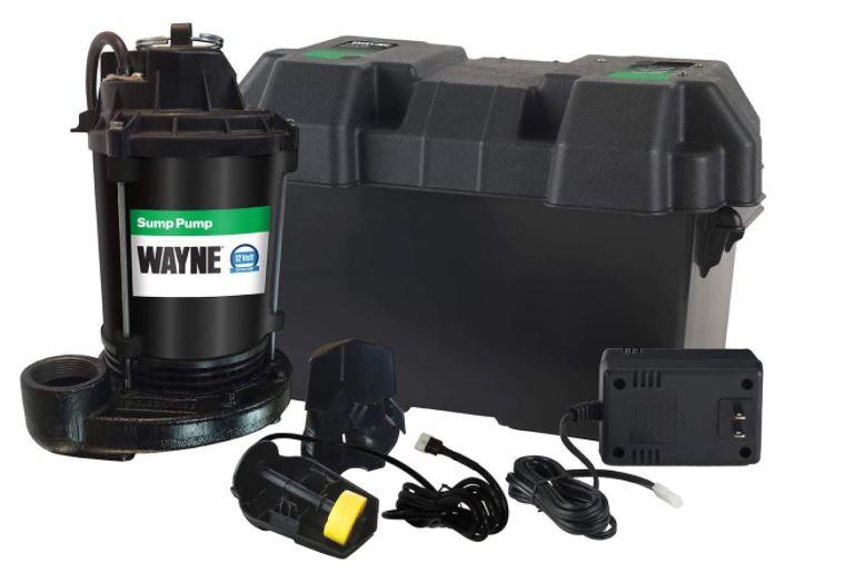 Wayne ESP25 Upgraded 12-Volt Battery Backup System