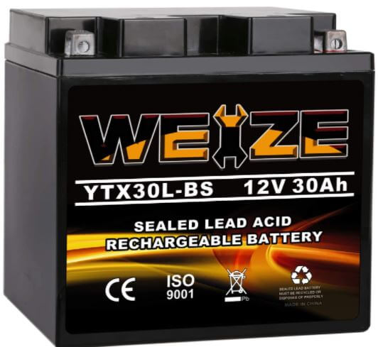 Weize YTX30L-BS Battery