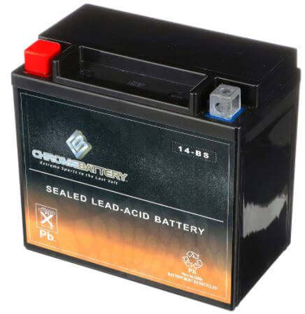 YTX14-BS ATV Battery- Rechargeable