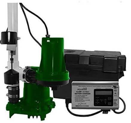 Zoeller 508-0006 Aquanot 508 ProPak53 Preassembled Sump Pump System
