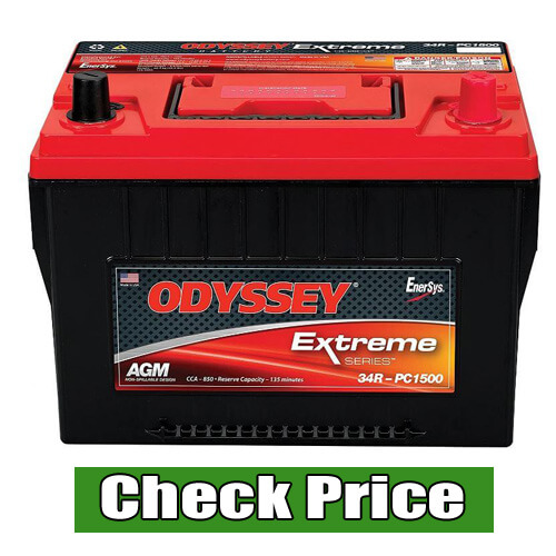 ODYSSEY Batteries 34R-PC1500-A Group 34 Automotive Light Truck Battery
